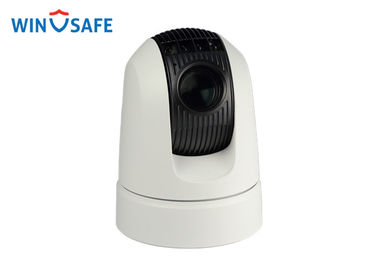 HD-SDI & SD 1080p Waterproof IP66 IR Vehicle PTZ Camera With Min.Illumination 0.0008 Lux
