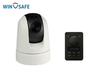 Black / White 1080p HD Vehicle PTZ Camera Support Onvif & Pelco D/P protocol with RS485 Control and Keyboard Controller